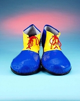 Blue & Yellow Clown Shoes