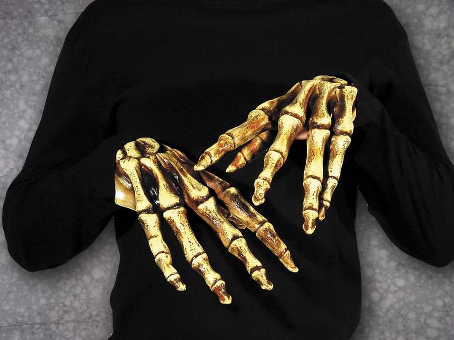 Держать в руке во сне свою кость