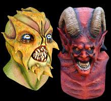 aliens demons devils - Alien Halloween Masks