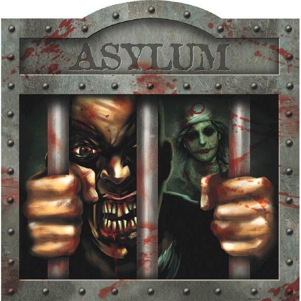 behind bars asylum cutout