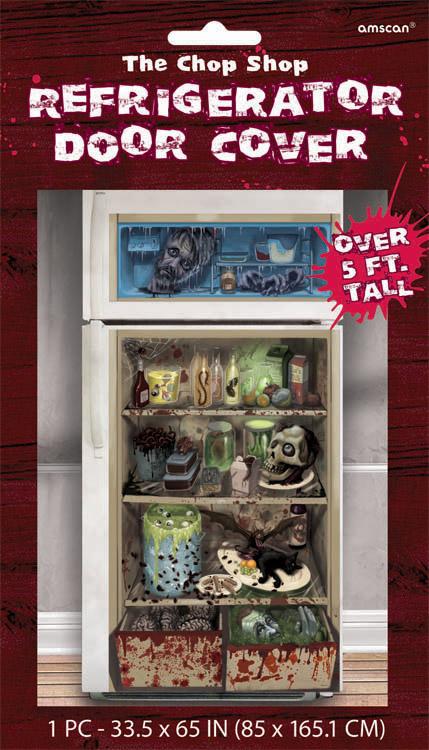 Halloween Refrigerator Door Cover Tattoo ~ 185336_Halloween Refrigerator Door Cover