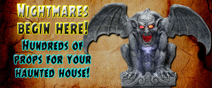 your source for scary halloween props halloween masks - Really Scary Halloween Decorations