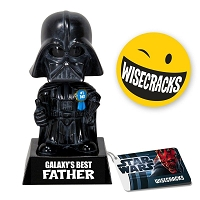 Darth Vadar Galaxy's #1 Father Wacky Wisecrack