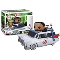 POP Ghostbusters Winston Zeddmore and Ecto 1