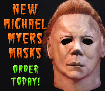 New Michael Myers Halloween II Masks