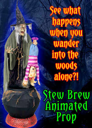 Stew Brew Animated Halloween Prop