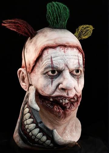 American Horror Story Twisty the Clown Halloween Mask Scary Halloween Clown Masks