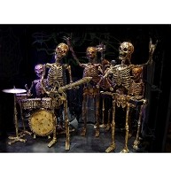 4 PC Skeleton Band