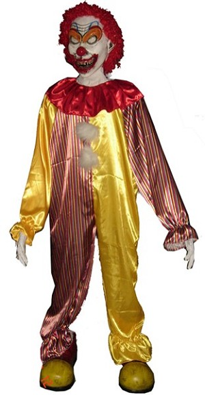 6 FT Lifesize Doodles the Clown Prop