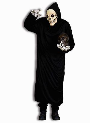Horror Robe - Black