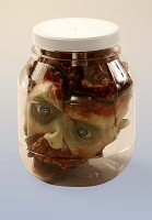Laboratory Head in Jar