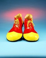 Red & Yellow Clown Shoes