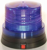Mini Blue Police Light Beacon