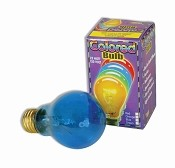 Color Light Bulb - Blue