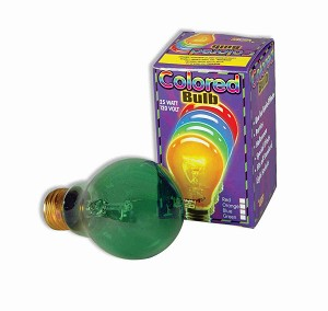 Color Light Bulb - Green