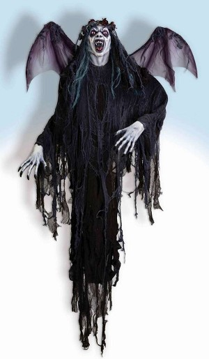 8 Ft Hanging Vampire with Wings