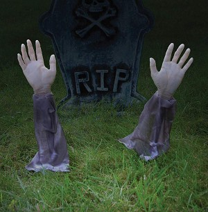 Zombie Arm Lawn Stakes