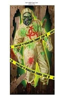 Biohazard Zombie Door Cover