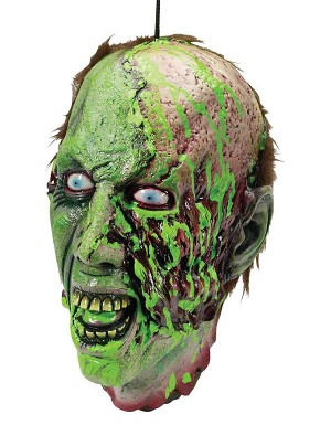 Cut Off Biohazard Zombie Head