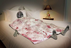Death Bed Zombie Prop