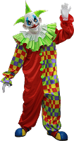 Old Clown Costume