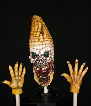 Foam Filled Head and Hands - Evil Corn