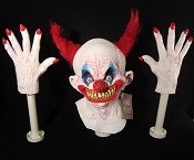 Foam Filled Head and Hands - Chingo the Clown