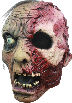 Burnt Zombie Mask