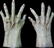 Green Creature Hands