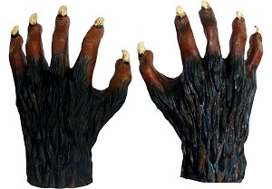 Brown Werewolf Hands
