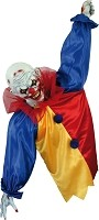 Balloon Clown Hanging Halloween Prop