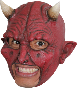 Devil Chinless Mask