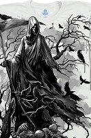 Reaper with Crows T-Shirt