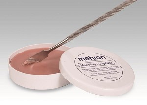 Mehron Modeling Putty Wax with Fixative A