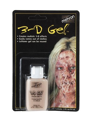 Mehron 3-D Gel Fleshtone 2oz. Squeeze Bottle