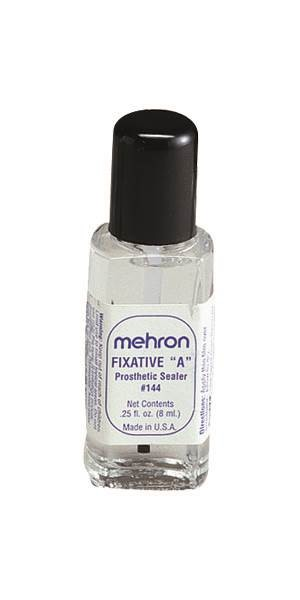 Mehron Fixative A Sealer 1/4oz. with Brush