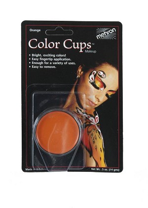 Mehron Color Cups - Orange