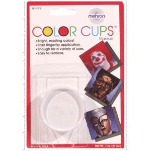 Mehron Color Cups - Clown White