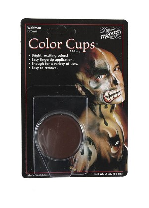 Mehron Color Cups - Wolfman Brown