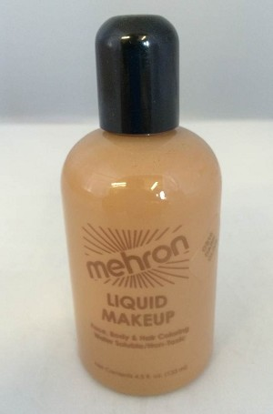 Mehron Liquid Makeup Dark Olive 4.5oz