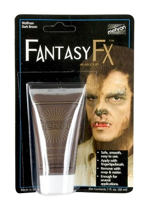 Mehron Fantasy F-X - Wolfman Dark Brown