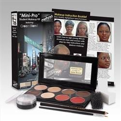 Mehron Mini-Pro Makeup Kit - Medium Dark/Dark