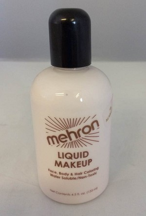 Mehron Liquid Makeup Alabaster 4.5oz