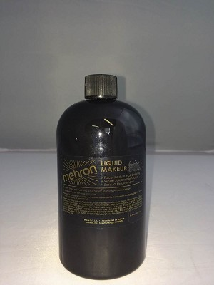 Mehron Liquid Makeup Black 16oz