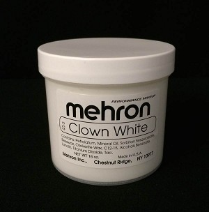 Mehron Clown White Makeup 16 oz