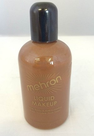 Mehron Liquid Makeup Sable 4.5oz