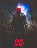 Friday the 13th Light-Up Portrait