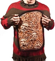 Nightmare on Elm Street Animated Freddy Sweater