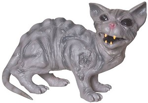 Feral Cat Animated Prop