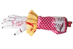 Severed Clown Arm Prop